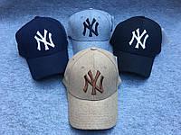 Зимние теплые кепки бейсболки NEW YORK 4 цвета. Правильная стабильная форма кепки. Доступно. Код: КГ2601