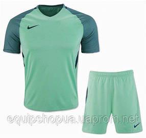 Футбольная форма игровая Nike (Найк бирюзовая)