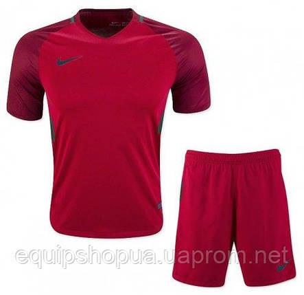 Футбольная форма игровая Nike (Найк красная) , фото 2