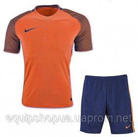 Футбольная форма игровая Nike (оранжевая)