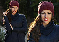 Женская шапка из ангоры теплая, фото 1
