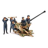 Немецкая зенитка Flak 37 с боевым расчетом (код 200-265848)
