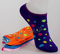 Короткий женский носок LW-03-003. В упаковке 18 пар