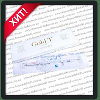 Внутрішньоматкова спіраль Gold T (Cu 375+Au) (мідь + золото)