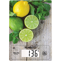 Весы кухонные  Scarlett SC-KS57P21(Скарлет) (10 кг)