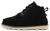 Зимние ботинки мужские UGG Australia David Beckham Угги Девид Бекхем черные
