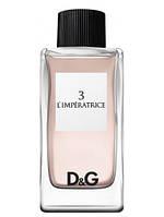 D&G Anthology 3 L 'Imperatrice edt 100 ml. tester