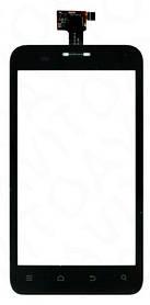 Тачскрин (сенсорный экран) для телефона ZTE V807 Blade C, ZTE V880E черный