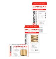 Зубочистки ТМ PRO service в полиэтиленовой упаковке