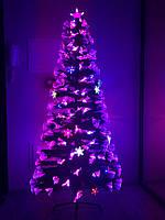 """Светящаяся, светодиодная елка """"Северное сияние"""" 210 см, 10 режимов ss210, фото 1"""