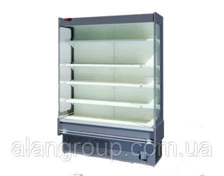 Пристенная холодильная витрина (регал) Индиана cube A