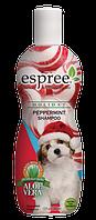 Espree Сandy Cane Peppermint Shampoo, 355 мл - шампунь для собак с ароматом мятных конфет