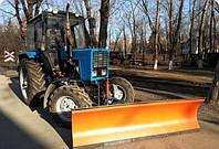 Отвал коммунальный передненавесной ширина 2000 мм ОК-2.0 усиленный Агромет