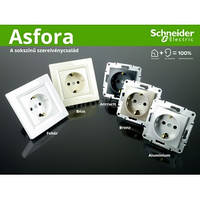 Розетки и выключатели ASFORA Schneider Electric