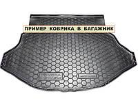 Полиуретановый коврик для багажника Audi A4 (B6-B7) универсал c 2000-2007