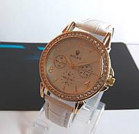 Женские наручные часы ROLEX белые с камнями