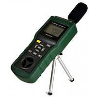 Mastech MS6300 5 в 1: шумомер, анемометр, термометр, люксметр и гигрометр
