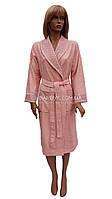 Элитный бамбуковый халат с кружевом Nusa NS 3905