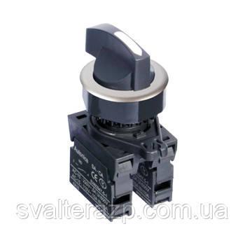 Селекторные переключатели с длинной ручкой (утопленный тип), Ø 30 мм  серии S3SF-S4/6/8