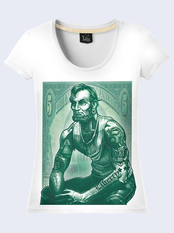Женсая футболка Линкольн
