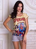 Женсая футболка Супергерои