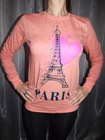 Свитшот Париж размер 42-44