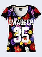 Женсая футболка SWAGGER 35