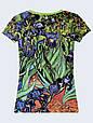 Женсая футболка Ван Гог Ирисы, фото 2