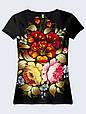 Женсая футболка Хохлома, фото 2