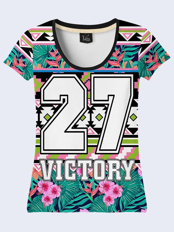 Женсая футболка Victory