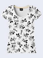 Женсая футболка Микки Маус Дисней