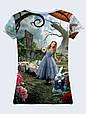 Женсая футболка Алиса в Стране чудес, фото 2