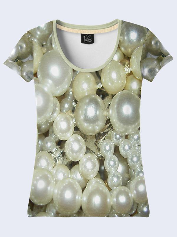 Женсая футболка Жемчуг