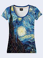 Женсая футболка Starry Night