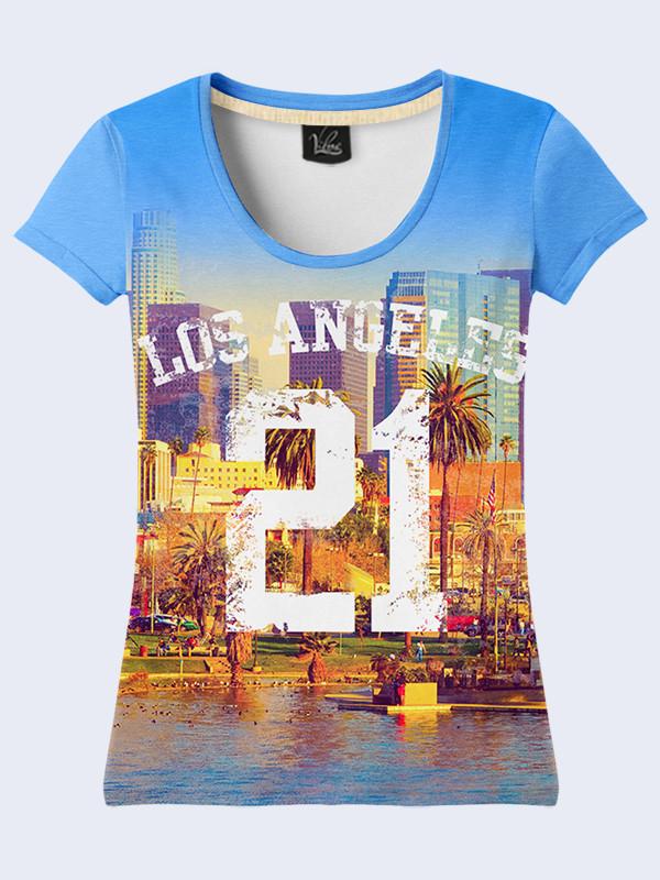 Женсая футболка Los Angeles 21