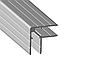 """Профіль 0162 алюмінієвий, подвійний куточок """"Кейсмекер"""" для панелей 10мм. 30х30 з товщиною стінки 1,5 мм"""