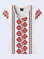 Женсая футболка Украинская вышивка