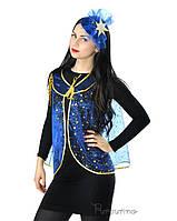 Женский карнавальный костюм Ноченька