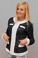 Куртка женская темно-синяя, фото 1