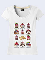 Женсая футболка Аппетитные сладости