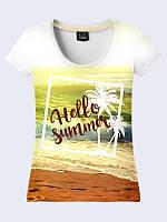 Женсая футболка Летнее море