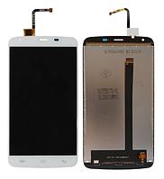 Оригинальный дисплей (модуль) + тачскрин (сенсор) для Doogee T6 | T6 Pro (белый цвет)