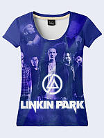 Женсая футболка Group Linkin Park poster