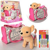 Игрушка для девочки Интерактивная собачка Chi-Chi Love M3643UA -23см, в сумке, укр.язык, муз., на батар., в