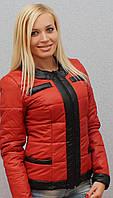 Куртка женская терракот