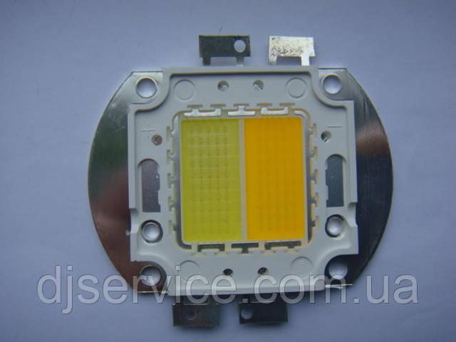 LED диод 100w white (холодный/теплый) для cob Par