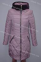 Красивая приталенная зимняя куртка от производителя
