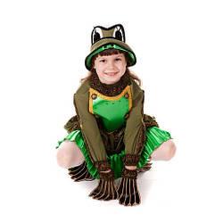 Костюм карнавальный для девочки Лягушка