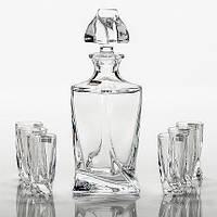 Набор для водки\ликера  Bohemia Quadro 7 предметов 169613