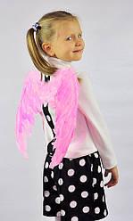 Крылья Ангела перьевые, розовые